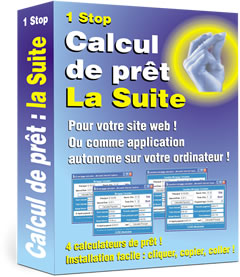 Mortgage Calculator Suite Software Box
